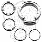 316L Surgical Steel Seemless Segment Ring