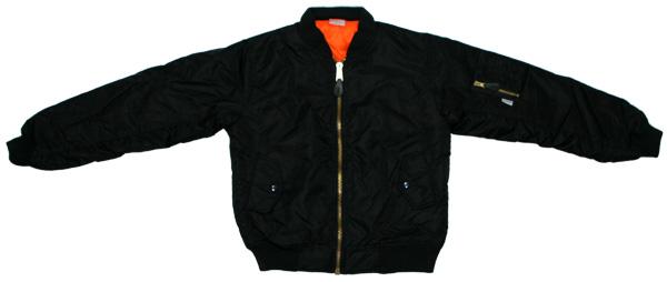 Men's Black MA-1 Flight Jacket